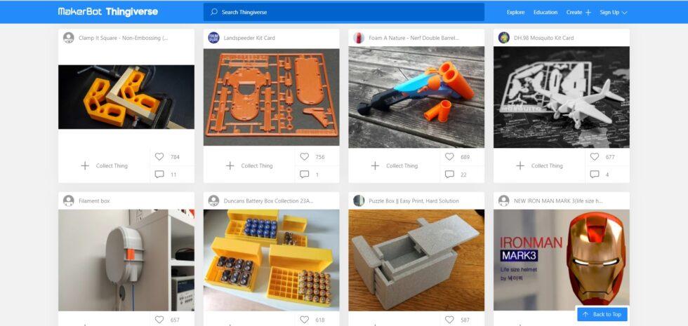 Modely pro 3D tisk ke stažení zdarma