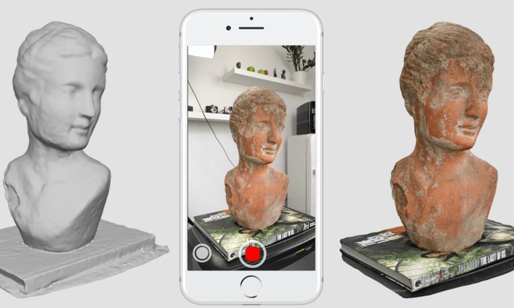 3D skenování pomocí telefonu